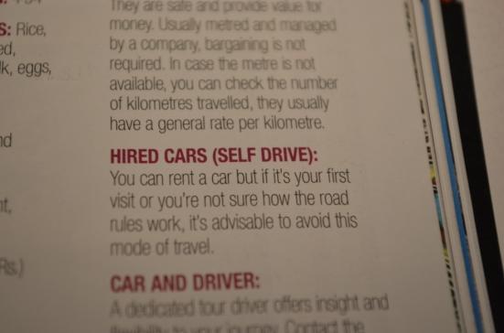 Don't Drive in Sri Lanka