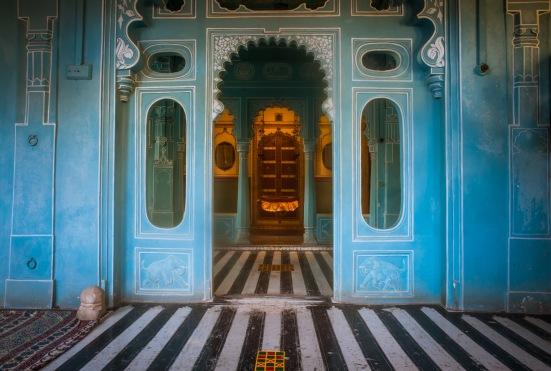 EZH City Palace Blue Room